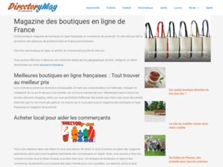Annuaire site e-commerce français