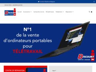 Détails : Discounti, boutique discount informatique à Namur