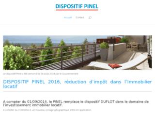 Information sur le fonctionnement du dispositif pinel