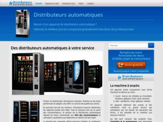 Quels sont les différents distributeurs automatiques ?