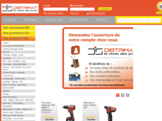 Détails : Vente d'outils électroportatifs pour professionnels