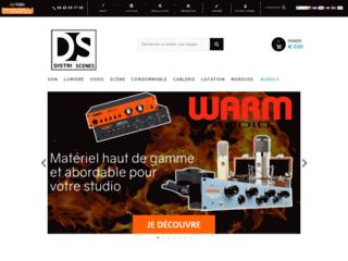 Détails : Vente en ligne de produits scéniques