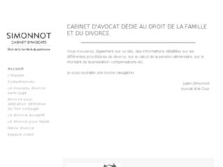 Détails : Cabinet d'avocat Julien Simonnot