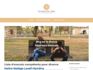 Blog d'information sur le divorce