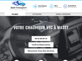Chauffeur VTC à Massy & Palaiseau