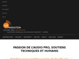 Djeproduction soutient en événementiel et spectacle avec acoustique, sonorisation, flightcase