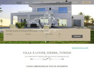 Détails : Location villa Djerba Tunisie