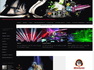 DJ Frenchy, site web officiel