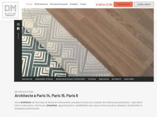 Détails : DM ARCHITECTURE : Architecte à Paris 14, Paris 15, Paris 6