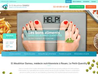 El Moukhtar Damou, médecin nutritionniste à Rouen, Le Petit-Quevilly