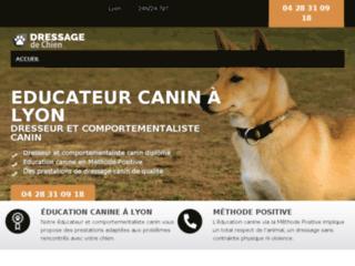 dresseur de chiens à Lyon