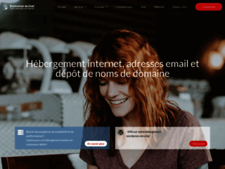 Détails : Domaine Achat, hébergement mutualisé