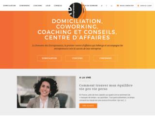 Détails : Le Domaine des Entrepreneurs : Centre d'affaires de Paris
