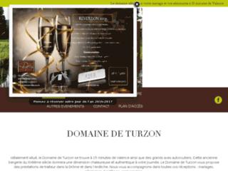 Détails : Location salles Domaine de Turzon à Valence