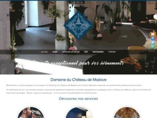 Détails : Domaine du Château de Modave : salles de réceptions