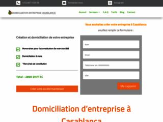 Domiciliation entreprise casablanca