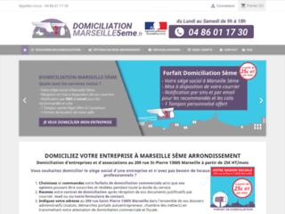Détails : Domiciliation Marseille 5eme