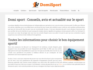 Domisport : magazine sport et mode