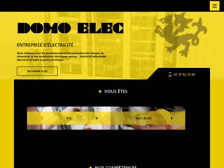 Domo Elec - Entreprise d'électricité industrielle, tertiaire et générale