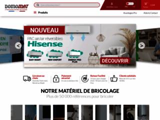 Domomat, vente en ligne de matériel électrique à prix réduit