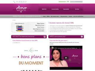 DPR : Solutions d'impression grand format