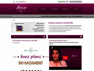 Détails : DPR, impression grand format pour entreprises