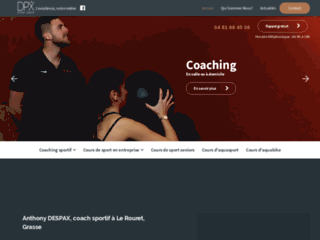 Anthony DESPAX, coach sportif à Le Rouret, Grasse