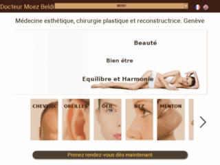 Détails : Docteur Moez Beldi, chirurgien esthétique en Suisse