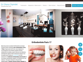 Dr Ohana Chpindel orthodontiste paris 17ème