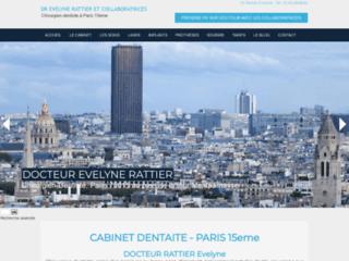 Evelyne Rattier, Chirurgien dentiste à Paris 15