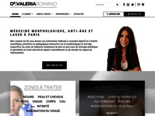 Docteur Valeria Romano: médecin esthétique à Paris