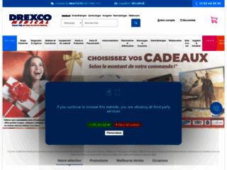 Détails : Drexco Médical : vente par correspondance de matériel médical à prix réduit