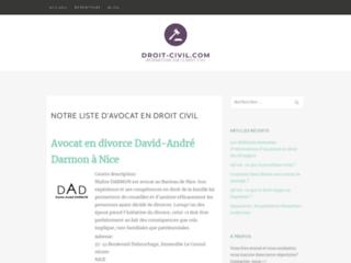 Blog d'informations en droit civil