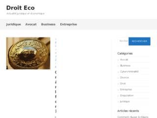 Droit eco: le blog des juristes et des économistes