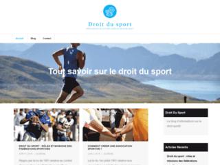 Informations sur le droit du sport