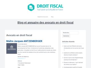 Conseils sur le droit fiscal
