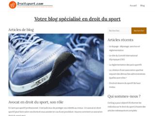 Droitsport : Blog de conseils et d'informations sur le droit du sport