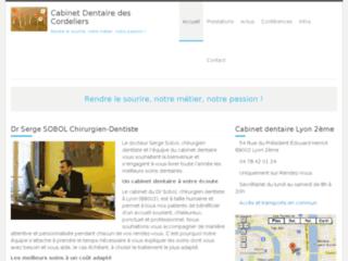 Chirurgien dentiste Serge Sobol à Lyon