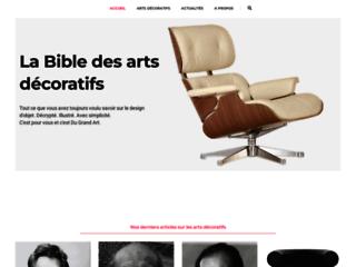 Encyclopedie en ligne pour les arts decoratifs