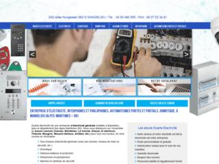 Détails : Duarte électricité : Un électricien sur la cote d'azur