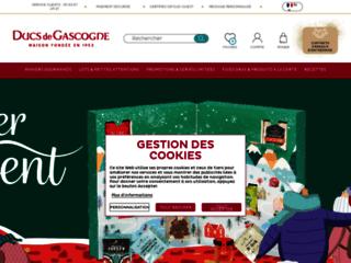 Détails : Foie gras Ducs de Gascogne et panier garni