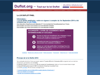 Détails : loi duflot 2013