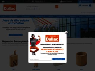 Détails : DULLAC : l'imprimeur qui promeut efficacement votre marque