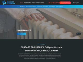 DUSSART PLOMBERIE à Ouilly-le-Vicomte, proche de Caen, Lisieux, Le Havre