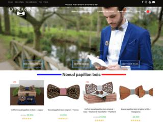 Dysagn - Noeud papillon en bois, montres en bois, accessoires homme et femme