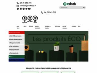 E-dkado objets innovants et sur mesures