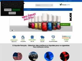 Détails : E-liquide Aquablue