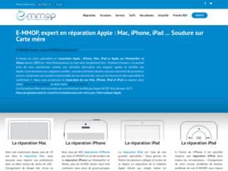 Détails : E-MMOP spécialiste en réparation Apple à Montpellier et Nîmes