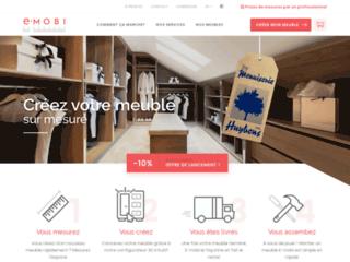 E-Mobi, meubles en kit sur mesure (dressing, placards, etc)