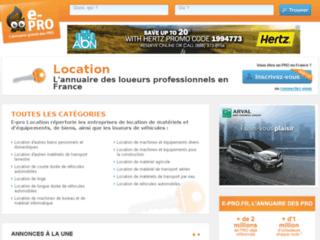 Détails : Agence de location